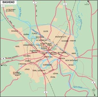 Baghdad city