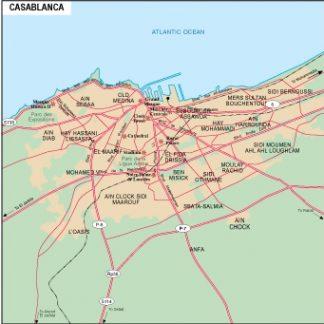 Casablanca city