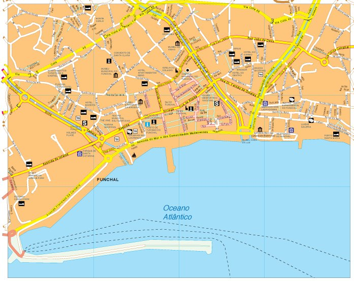 Funchal map