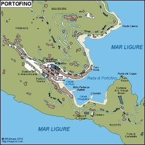 Portofino eps map