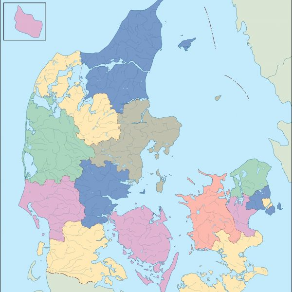 denmark blind map