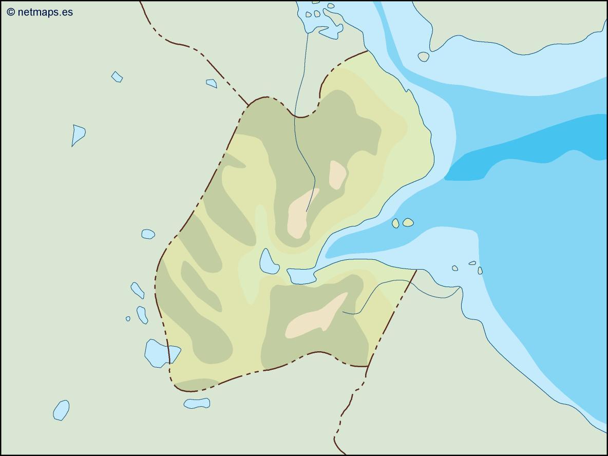 djibouti illustrator map