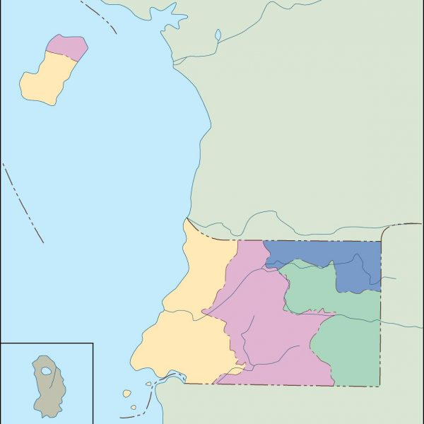 equatorial guinea blind map