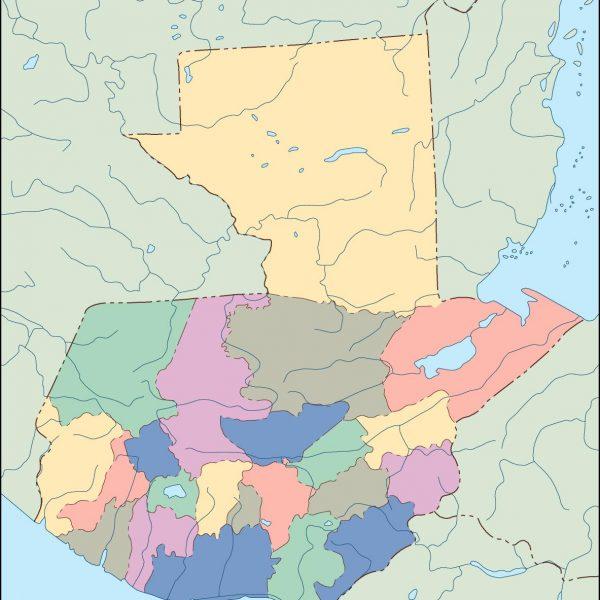 guatemala blind map