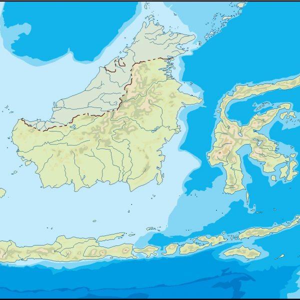 indonesia illustrator map