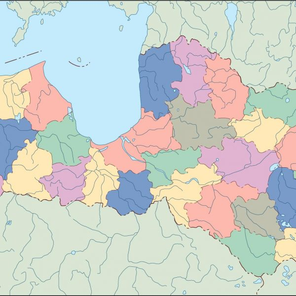 latvia blind map