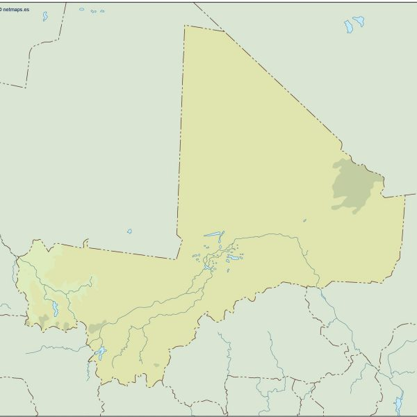 mali illustrator map