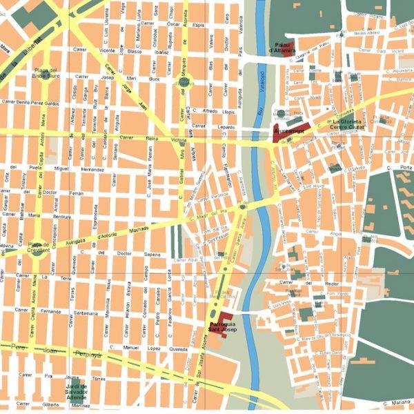 mapa elche