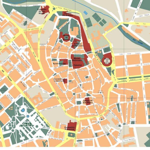 mapa huesca