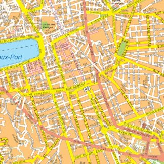 marseille vector map