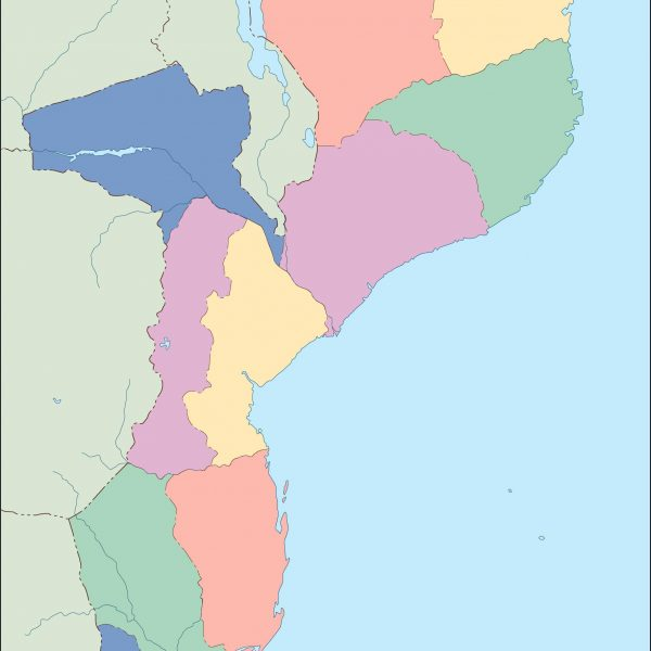 mozambique blind map