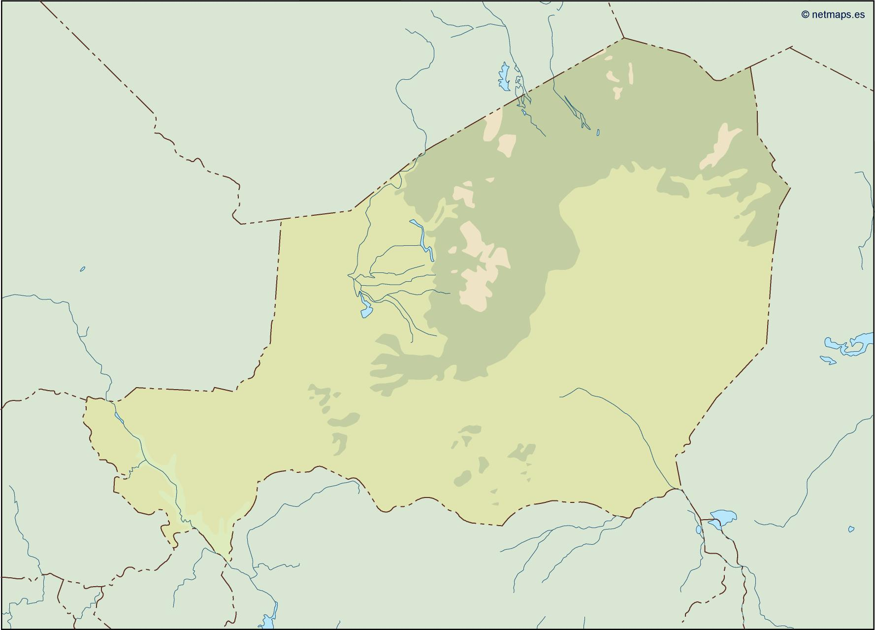 niger illustrator map