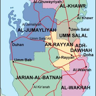 qatar political map