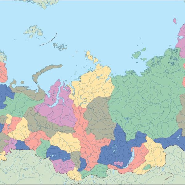 russia blind map