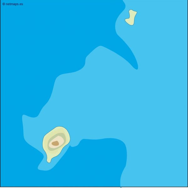 sao tome e principe illustrator map