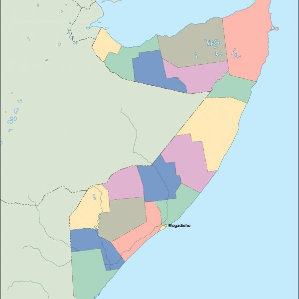 somalia vector map