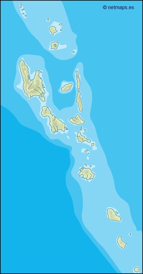 vanuatu illustrator map