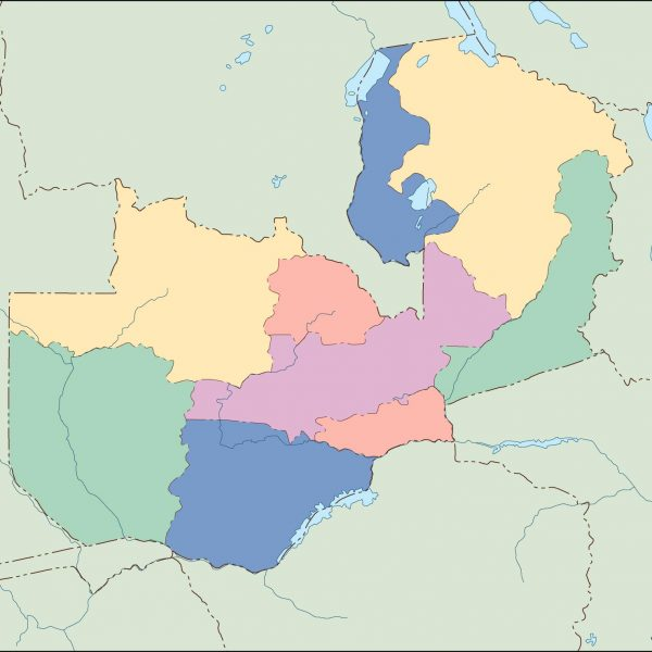 zambia blind map