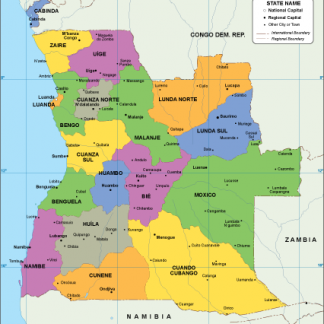 Angola EPS map