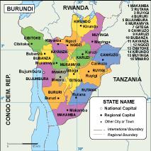 Burundi EPS map