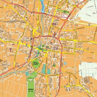 Kielce EPS map