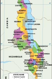 Malawi EPS map
