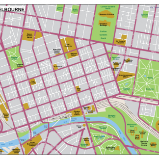 Melbourne EPS map