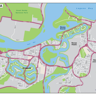 Noosa EPS map