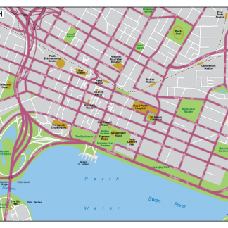 Perth EPS map