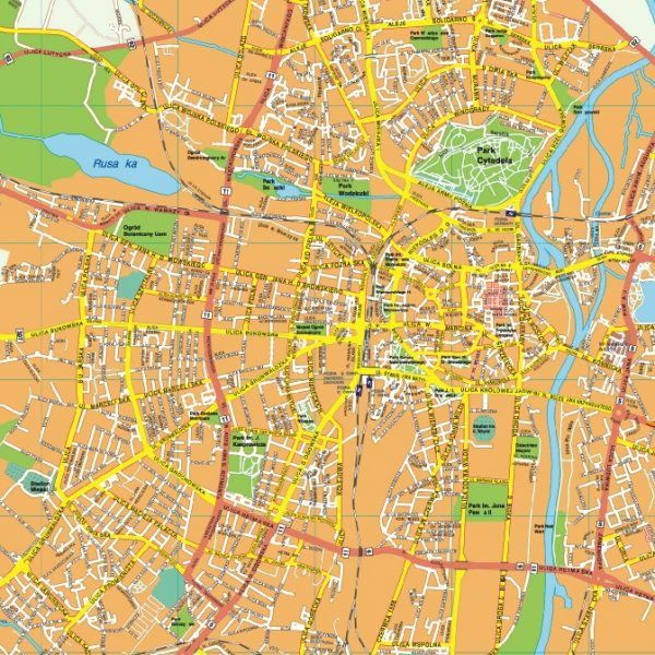 Poznan EPS map
