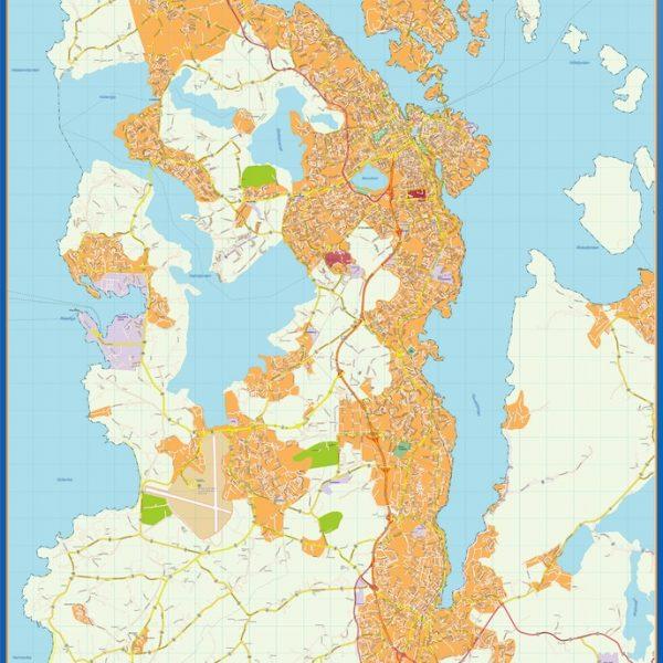 Stavanger kart