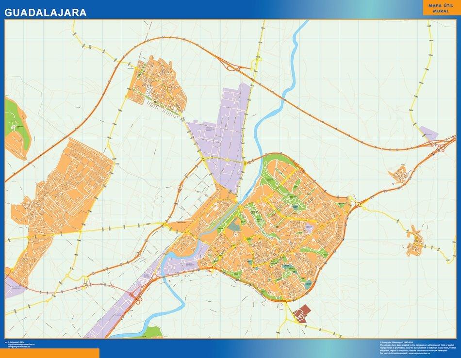 mapa vectorial guadalajara