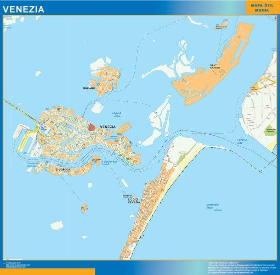 mappa eps venezia