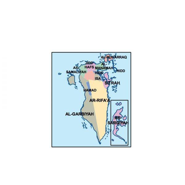 bahrain presentation map