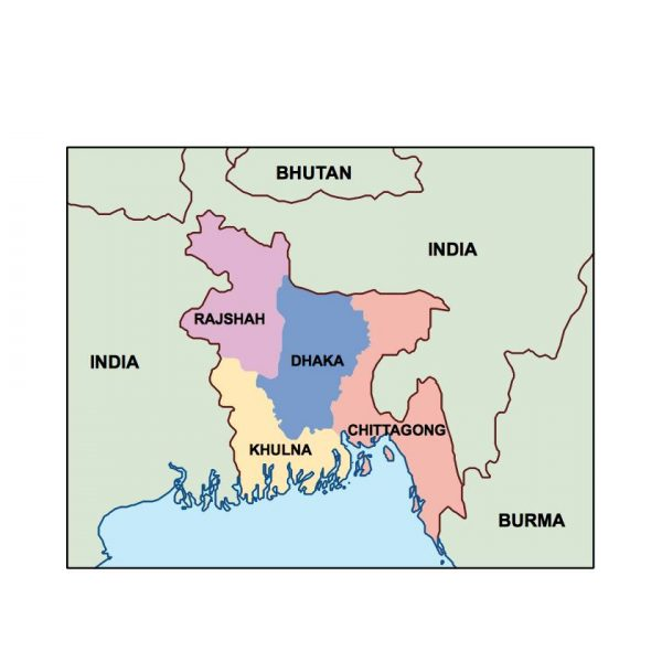 bangladesh presentation map