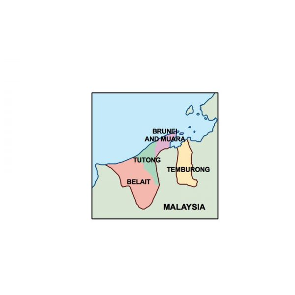 brunei presentation map