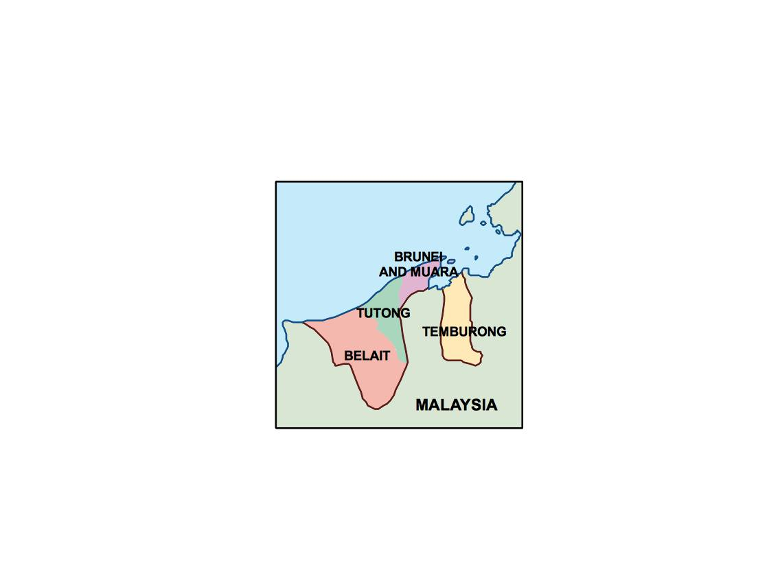 brunei presentation map
