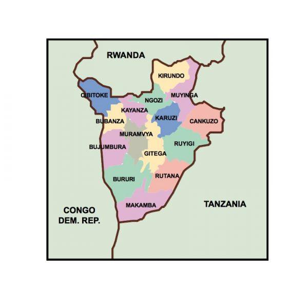 burundi presentation map