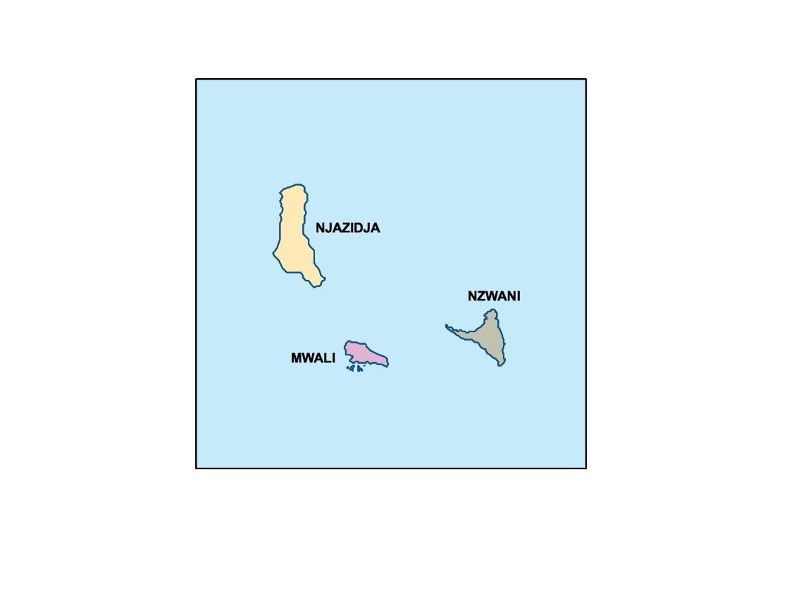 comoros presentation map