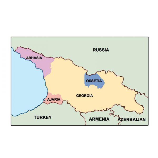 georgia presentation map