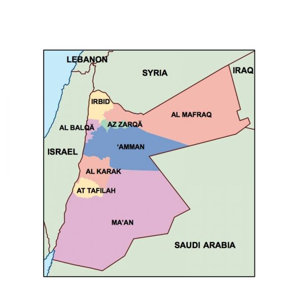 jordan presentation map