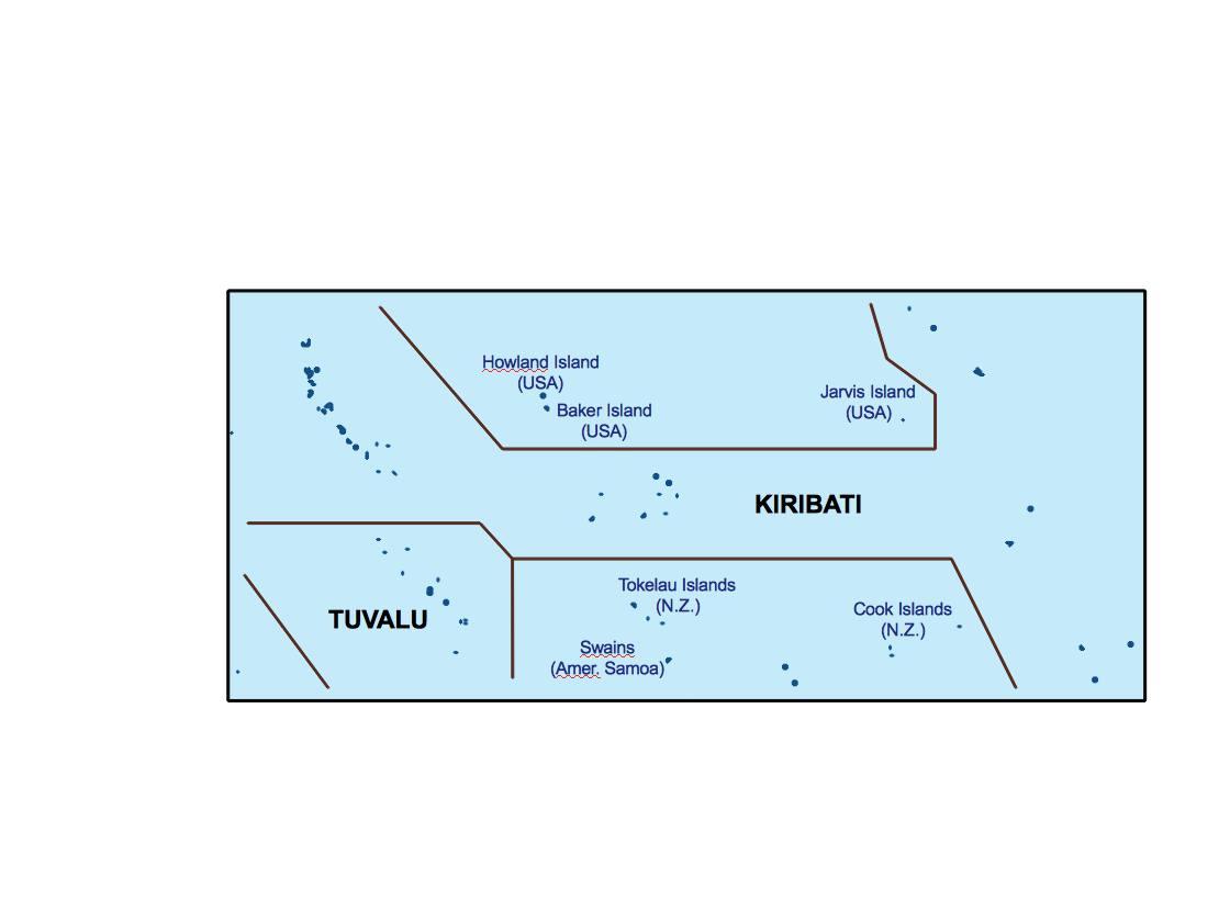 kiribati presentation map