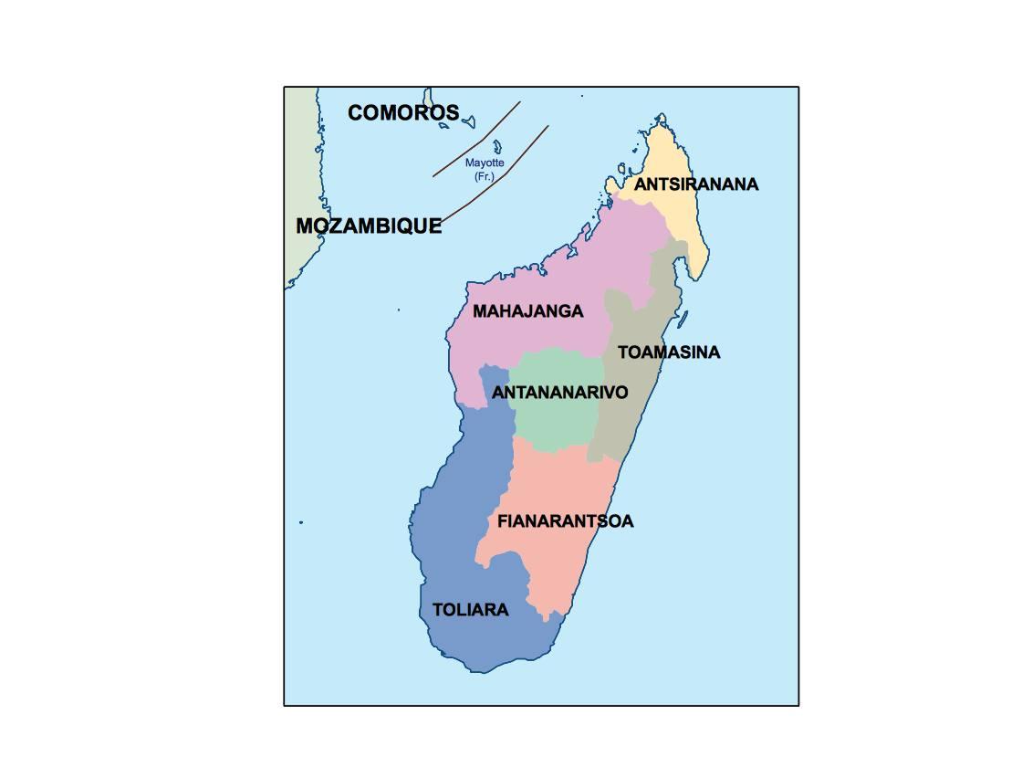 madagascar presentation map