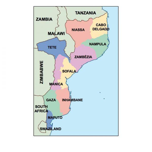 mozambique presentation map