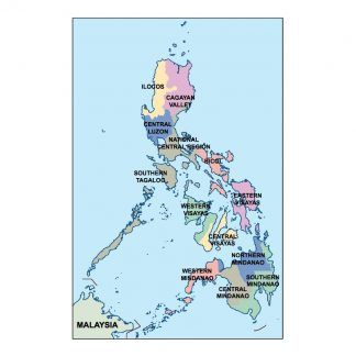 philippines presentation map