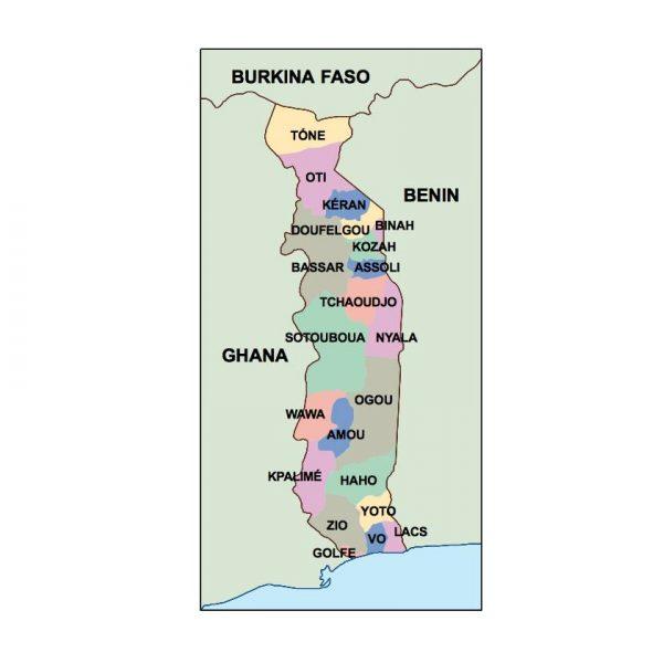 togo presentation map