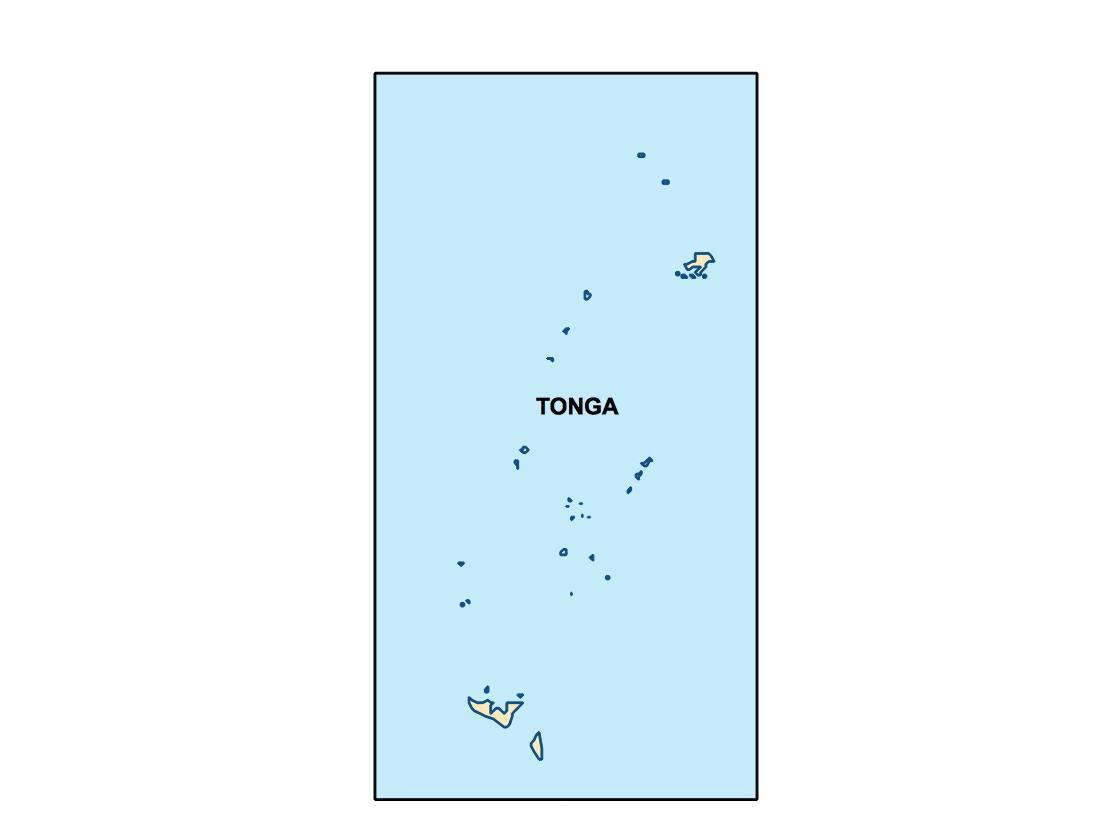 tonga presentation map