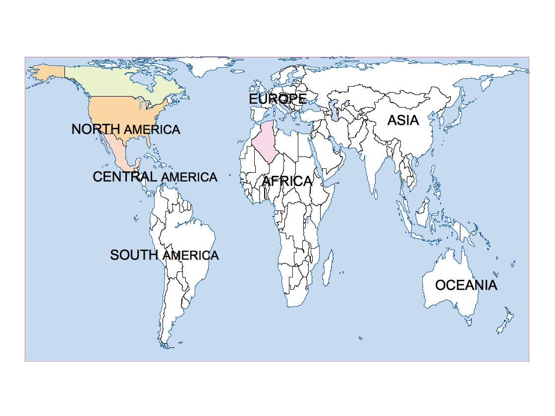 world peters presentation map