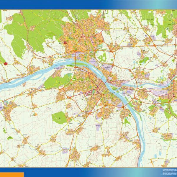 Mainz Wandkarten