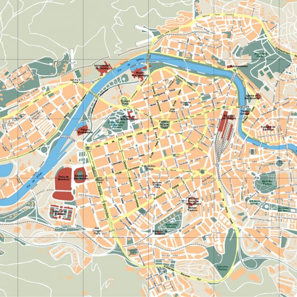 Bilbao Vector Map